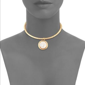 18k Yellow Gold Paris Mother of pearl